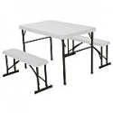 Deals List: Lifetime Folding Picnic Table with Benches