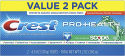 Deals List: 2 Crest Whitening Toothpaste w/Touch of Scope 4.6OZ + Crest Intense 5.4Oz