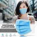 Deals List: 50-Pc 3-Ply Disposable Earloop Face Mask