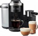 Deals List: Keurig - K-Cafe Single Serve K-Cup Coffee Maker - Dark Charcoal