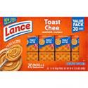 Deals List: Lance Sandwich Crackers, Toastchee Peanut Butter, 20 Count Value Pack Boxes (Pack of 6)