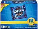 Deals List: OREO Chocolate Sandwich Cookies, 4 Boxes of 18 Snack Packs (72 Total Packs)