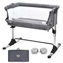 Deals List: BABY JOY Baby Bedside Crib Portable Bassinet