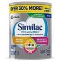 Deals List: 4-Count Similac Pro-Advance Baby Formula 1.93-lb (30.88oz) Tub + $25 Walmart GiftCard