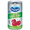 Deals List: Ocean Spray 100% Apple Juice, 5.5 Ounce Mini Cans (Pack of 48)