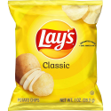 Deals List: Lay's Classic Potato Chips, 1 oz (Pack of 40)