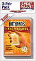 Deals List: HotHands Hand Warmers - Long Lasting Safe Natural Odorless Air Activated Warmers - Up to 10 Hours of Heat - 3 Pair