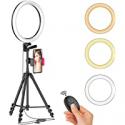 Deals List: Aptoyu 12-in LED Selfie Ring Light w/Tripod Stand & Cellphone Holder