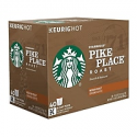 Deals List: 40-Count Starbucks Pike Place Coffee Keurig K-Cup Pods