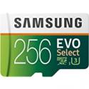 Deals List: Samsung Electronics EVO Select 256GB microSDXC UHS-I U3 100MB/s Full HD & 4K UHD Memory Card with Adapter (MB-ME256HA)