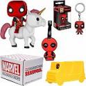 Deals List: Funko Marvel Collector Corps Subscription Box - Deadpool Theme, July, Multicolor