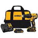 Deals List: DeWalt 20-Volt MAX Cordless Drill Driver w/Charger + 2-Batteries