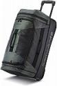 Deals List: Samsonite Andante 2 Drop Bottom Wheeled Rolling Duffel Bag, Moss Green/Black, 22-Inch