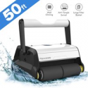 Deals List: Paxcess Automatic Robotic Pool Cleaner Ideal for Pool up to 50Ft