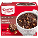 Deals List: Duncan Hines Mug Cakes Walnut Brownie Mix, 4 - 2.2 OZ Pouches