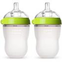 Deals List: Comotomo Baby Bottle, Green, 8 Ounce (2 Count)