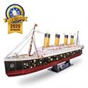 Deals List: 266Pcs CubicFun Adults RMS Titanic Ship Toys Model Kits 34.6-in