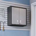 Deals List: Manhattan Comfort Fortress 30.3 in. H x 30 in. W x 12.5 in. D Floating Textured Metal Freestanding Cabinet