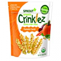 Deals List: Sprout Organic Crinklez Toddler Snacks, Pumpkin Carrot, 1.48 Ounce Bag (Single)