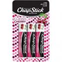 Deals List: 3-Count Chapstick Classic Cherry Flavor Skin Protectant Lip Balm
