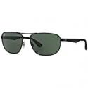 Deals List: Ray-Ban Men's Matte Metal Navigator w/Green Classic Lens RB3528