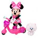 Deals List: Minnie Helper Scooter 13-inch Feature Plush