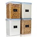 Deals List: 4-Pieces Vtopmart Large Food Storage Containers 5.2L 4.7quart