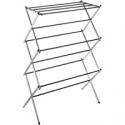 Deals List: Whitmor 11-Bar Folding Clothes Top Shelf Chrome Drying Rack