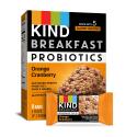 Deals List: KIND Breakfast Probiotic Bars, Orange Cranberry, 32 Count