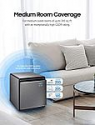 Deals List: SAMSUNG Cube Smart Air Purifier with 3 Stage True HEPA Filter System | Silent & Wind-Free | for Allergies, Pet Dander, Odor, and Dust, Honed Silver