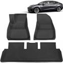 Deals List: BASENOR Tesla Model 3 Floor Mat 3D Anti-Slip Liners Set
