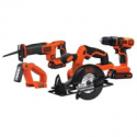 Deals List: BLACK+DECKER 20V MAX Cordless Drill Combo Kit, 4-Tool (BD4KITCDCRL)