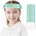 Deals List: 5-pc KEYLLLNG Kids Anti-fog Face Shields Transparent Breathable Full Face Protective Visor