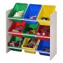 Deals List: Muscle Rack Kids Storage Organizer with 9 Bins (White)