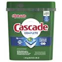 Deals List: Cascade Complete Dishwasher Pods, Actionpacs Dishwasher Detergent, Lemon Scent, 78 Count