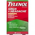 Deals List: Tylenol Sinus + Headache Non-Drowsy Daytime Caplets with Acetaminophen & Phenylephrine HCl, 24 ct