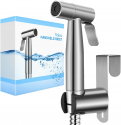 Deals List: Veken Non-Electric Bidet Self-Cleaning Dual Nozzle (Frontal /Feminine Wash), Fresh Water Spray Bidet for Toilet with Adjustable Water Pressure Switch