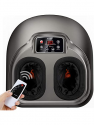 Deals List: Arealer Foot Massager Machine with Heat, Shiatsu Foot Massagers with Remote Control & LCD Display, 5 Mode with Air Compression, Kneading Foot Massage for Blood Circulation & Plantar Fasciitis