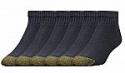 Deals List: 6-Pairs Gold Toe Men's 656p Cotton Quarter Athletic Socks (Sizes 6 - 13)
