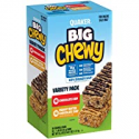 Deals List: Quaker Big Chewy Granola Bars, 60% Larger, 2 Flavor Variety Pack, (36 Pack)