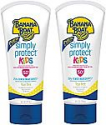 Deals List: 2-Pack Banana Boat Simply Protect Kids Tear-Free, Broad Spectrum Sunscreen Lotion, SPF 50, 6 oz
