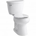 Deals List: KOHLER Memoirs Classic Comfort Height 2-piece 1.28 GPF Single Flush Round Front Toilet in White, Cachet Q3 Toilet Seat Included