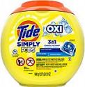 Deals List: 2 x Tide Simply Pods +oxi Liquid Laundry Detergent Pacs Capsules, Refreshing Breeze, 55 Count