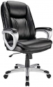 Deals List: Realspace Tresswell Bonded Leather High-Back Executive Chair
