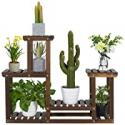 Deals List: Yaheetech Wooden Plant Stand Multiple Tiered Flower Rack