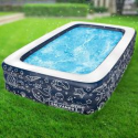 Deals List: Extra Large Above Ground Family Sized Inflatable Pool 10x6-FT