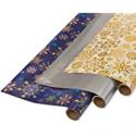 Deals List: PAPYRUS 6392769 ROLLWRAP 30-inch 3-Roll, Jewel Snowflak