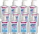 Deals List: PURELL Advanced Hand Sanitizer Refreshing Gel, Clean Scent, 8 fl oz Pump Bottle (Pack of 12) - 9652-12