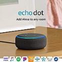 Deals List: All-new Echo Dot (3rd Gen) - Smart speaker with Alexa - Charcoal