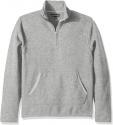 Deals List: Croft & Barrow Men's Textured Fleece Quarter-Zip Pullover